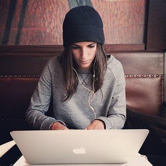 computer-woman